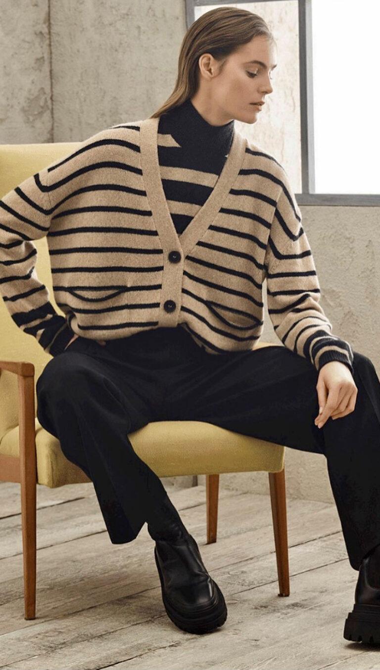 schaufenster-cardigan-pullover-lupetto-rigato-cropped